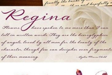 دانلود فونت انگلیسی دستخط Regina