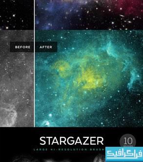 دانلود براش های فتوشاپ کهکشان - شماره 2