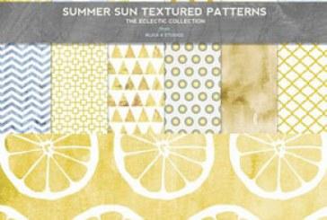 دانلود پترن های زمینه تابستانه و طلایی