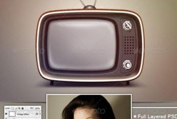 دانلود ماک آپ تلویزیون قدیمی – شماره 2