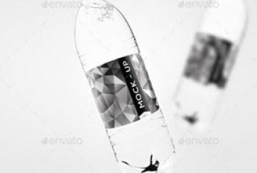 دانلود ماک آپ فتوشاپ بطری آب