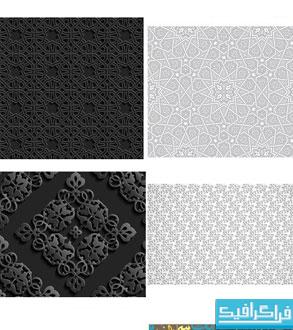 دانلود وکتور پترن های طرح عربی