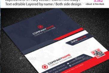 دانلود کارت ویزیت شرکتی – شماره 68