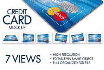 دانلود ماک آپ کارت اعتباری بانک – شماره 2
