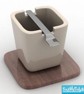 دانلود مدل سه بعدی فنجان - شماره 2