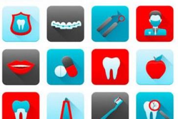 آیکون های دندان و دندان پزشکی – شماره 2