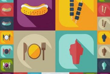 دانلود آیکون های مواد غذایی – طرح تخت