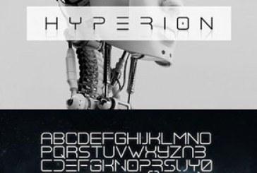 دانلود فونت انگلیسی Hyperion