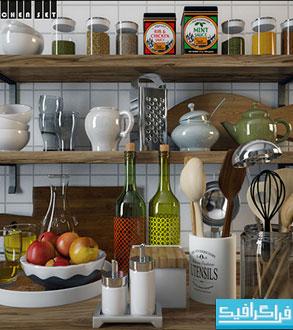 مدل های سه بعدی وسایل آشپرخانه - شماره 3