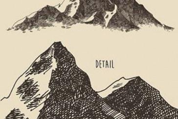 دانلود وکتور طرح های کوه کنده کاری شده