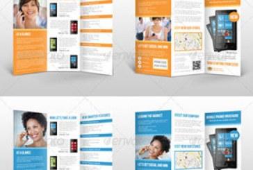 فایل لایه باز فتوشاپ بروشور تبلیغ محصول