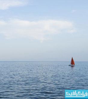 دانلود والپیپر قایق بادبانی