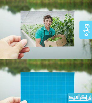 دانلود ماک آپ فتوشاپ عکس اندازه 4x6