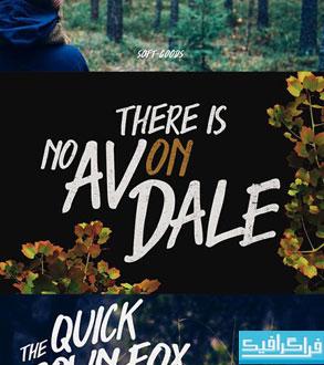 دانلود فونت انگلیسی Avondale