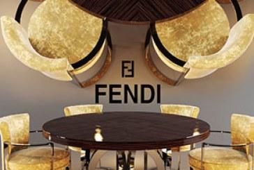 دانلود مدل سه بعدی میز و صندلی Fendi