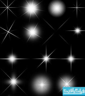 براش های فتوشاپ افکت نور و ستاره - شماره 3