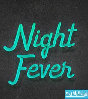 دانلود فونت انگلیسی Night Fever