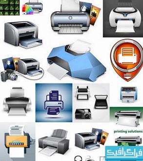 دانلود وکتور های چاپگر - Printers Vectors