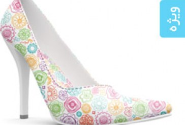 دانلود ماک آپ فتوشاپ کفش زنانه