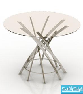 دانلود مدل سه بعدی میز - شماره 4