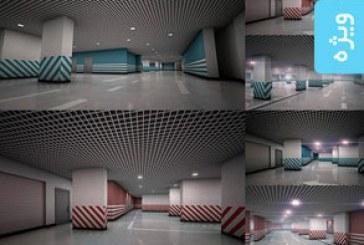 دانلود تصاویر استوک پارکینگ زیر زمینی