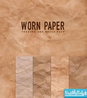 دانلود براش های فتوشاپ کاغذ کهنه