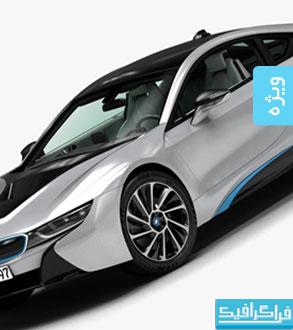 دانلود مدل سه بعدی اتومبیل BMW i8 2015