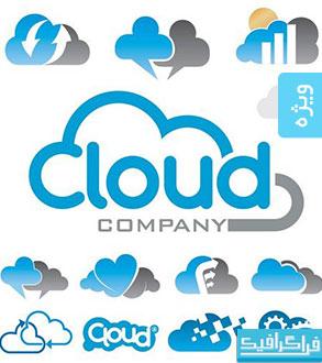 دانلود لوگو های تجاری ابر - شماره 2