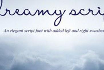 دانلود فونت انگلیسی دستخط Dreamy Script