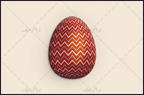 آموزش ایلوستریتور ساخت تخم مرغ رنگی