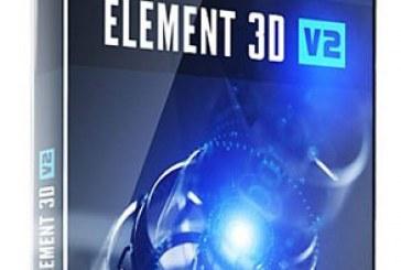 دانلود پلاگین افتر افکت Element 3D نسخه 2.2