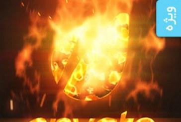 پروژه افتر افکت نمایش لوگو – طرح شعله