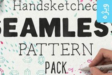 دانلود پترن های فتوشاپ اشکال رسم شده با دست