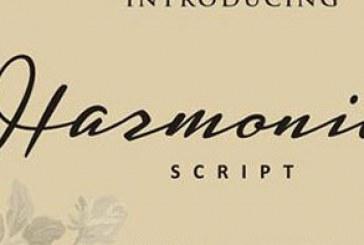 دانلود فونت انگلیسی دستخط Harmonie