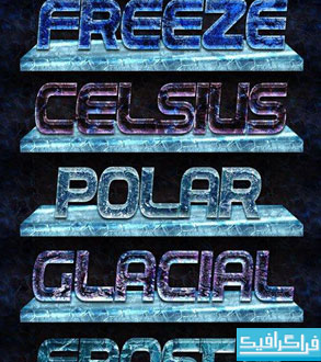 دانلود استایل های فتوشاپ یخ - شماره 3