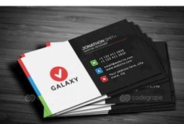 دانلود کارت ویزیت مدرن شرکتی – شماره 7