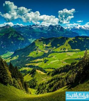 دانلود والپیپر کوهستان - Mountain Wallpaper