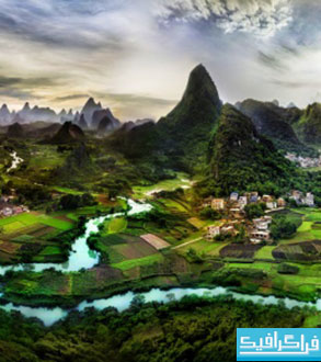 دانلود والپیپر طبیعت - کشور چین