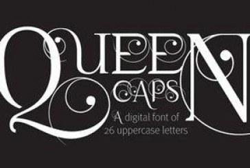 دانلود فونت انگلیسی Queen