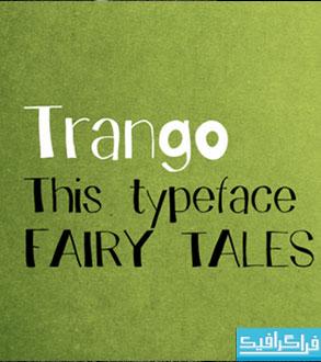 دانلود فونت انگلیسی Trango