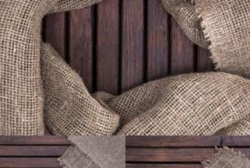 دانلود تصاویر استوک سطح چوبی با گونی