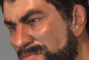 دانلود مدل سه بعدی مرد با ریش