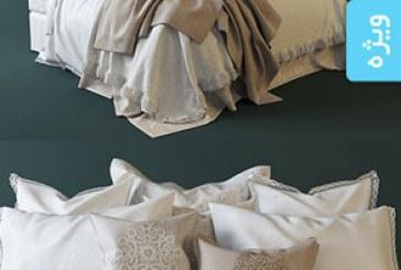 دانلود مدل سه بعدی تختخواب – شماره 3
