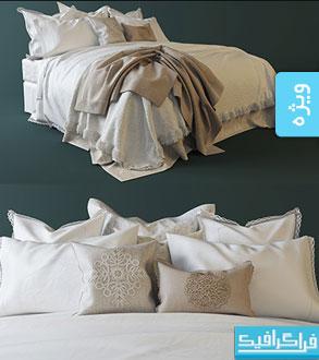 دانلود مدل سه بعدی تختخواب - شماره 3