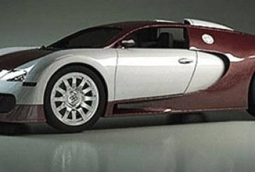 مدل سه بعدی اتومبیل بوگاتی ویرون