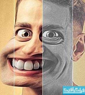 دانلود اکشن فتوشاپ ساخت کاریکاتور