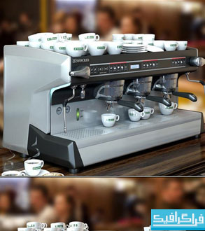 دانلود مدل سه بعدی قهوه ساز حرفه ای