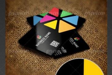 دانلود کارت ویزیت رنگارنگ – شماره 6