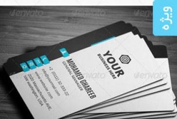 دانلود کارت ویزیت خلاقانه شرکتی – شماره 11