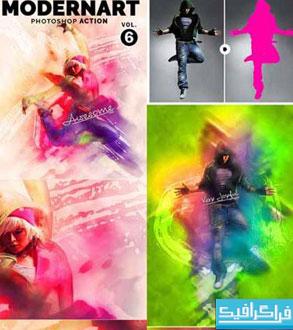 اکشن فتوشاپ ساخت اثر هنری مدرن - شماره 2